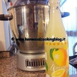 Ricetta limonata Kenwood