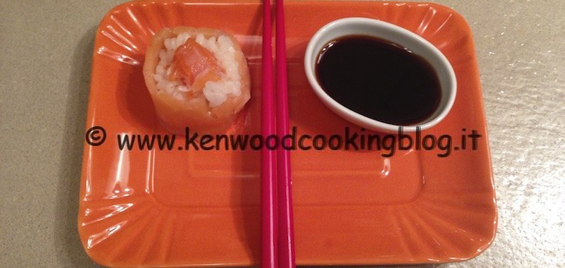 Ricetta riso per sushi e roll Kenwood