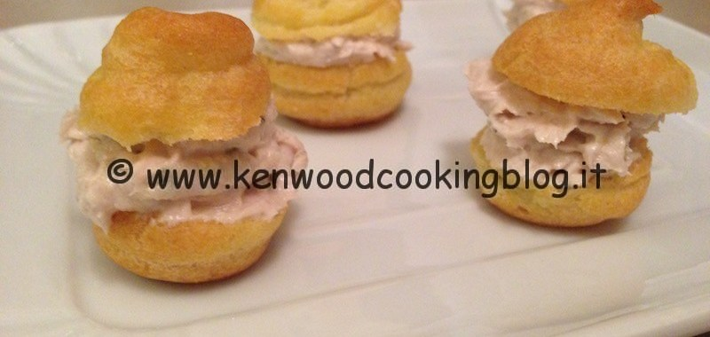 Ricetta mousse di tonno Kenwood