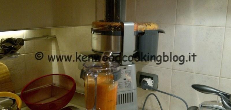 Ricetta succo centrifugato ACE Kenwood