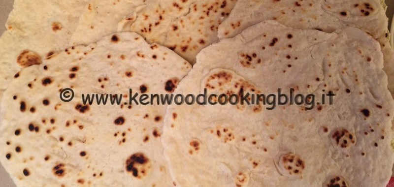 Ricetta piadine con esubero di pasta madre Kenwood