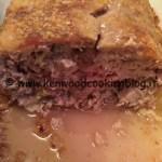 Ricetta polpettone di carne senza patate Kenwood