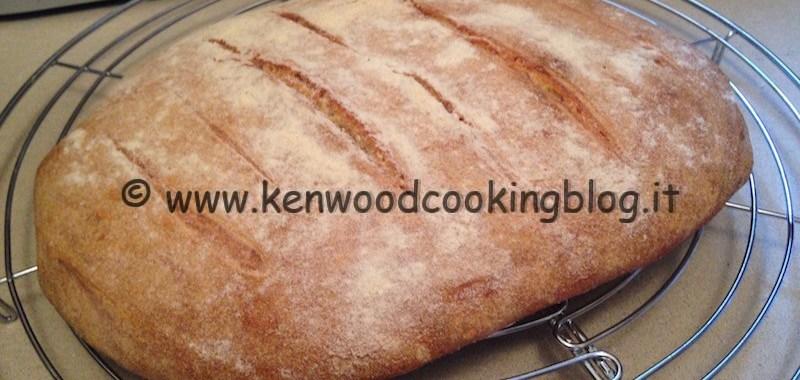 Ricetta pane di semola con esubero di lievito madre Kenwood