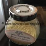 Ricetta Sale Aromatizzato Arancia e Zenzero Kenwood