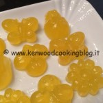 Ricetta caramelle gommose all'arancia Kenwood