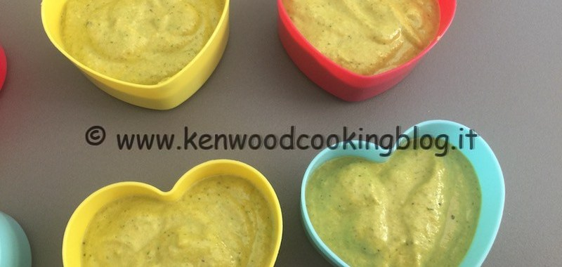 Ricetta pesto con fiori di zucca Kenwood