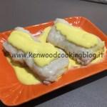 Ricetta filetti di nasello con salsa al mascarpone e zafferano Kenwood