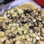 Ricetta quiche di patate, melanzane e guanciale Kenwood