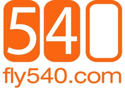 Fly540 online booking