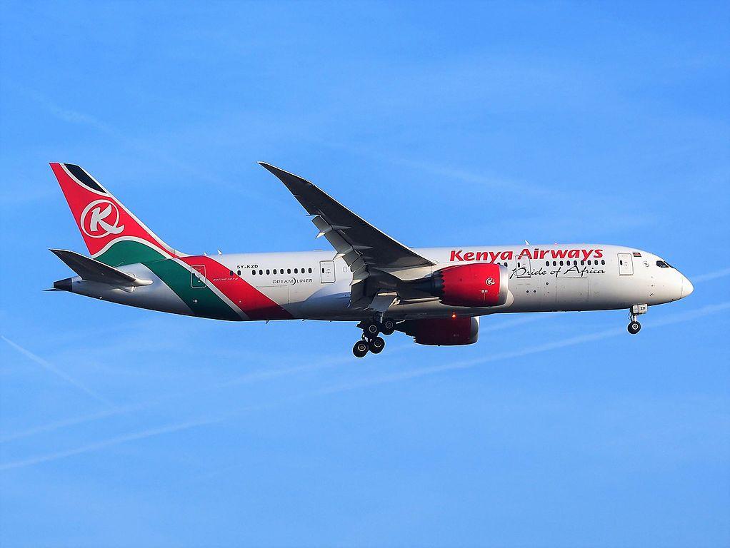 Kenya Airways Reservations Online Booking