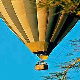 Montgolfière kenya safari voyage
