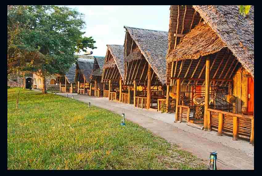 Mwazaro Beach Mangrove Lodge - Hébergements de plage Diani beach Kenya