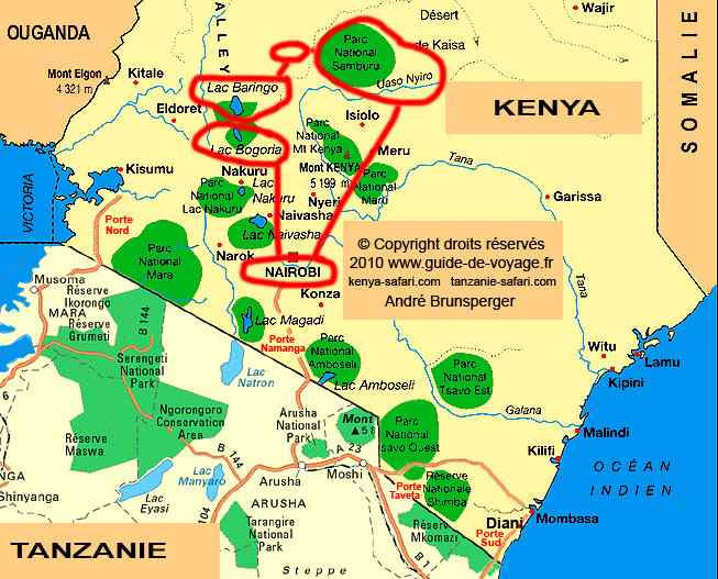Trek aventure kongoni steppes sauvages safari bivouac