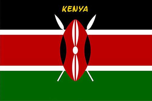 Kenya flag - Kenya introduction short presentation Kenya trip adventure