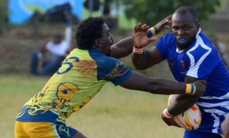 Strathmore and Homeboyz in previous action on Wednesday 17 February 2016/Photo/Voice Strathmore