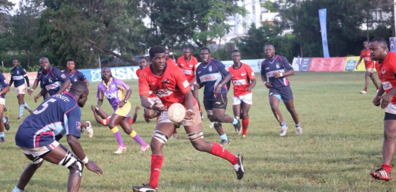 Sarries top of the table after big win over Mombasa