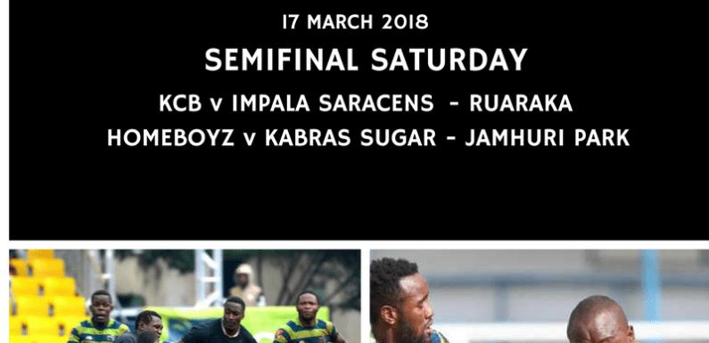 It's semifinal Saturday in the Kenya Cup