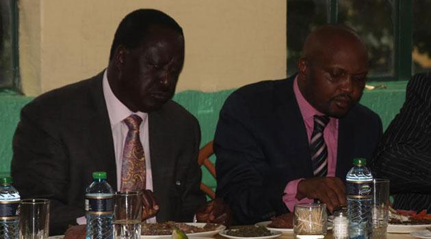 When i grow up, i want to be like Raila, he's my role model- Hon Kuria