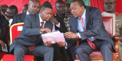 Watch Uhuru Abandon VIP Seat Because of Kamba Song Playing