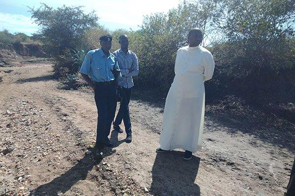 Two of the suspected kidnappers and killers of the priests were arrested on Monday, October 14 on the Mombasa Makindu highway.