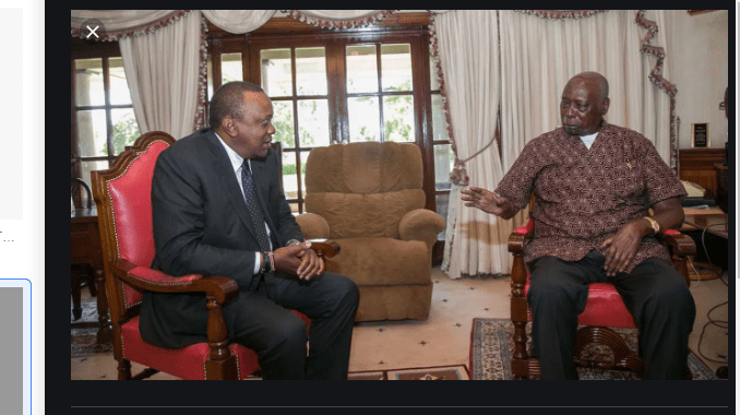 """""""Moi's 24 year rule was embattled with misrule and despotism. Wrong!""""- Moses Kuria"""