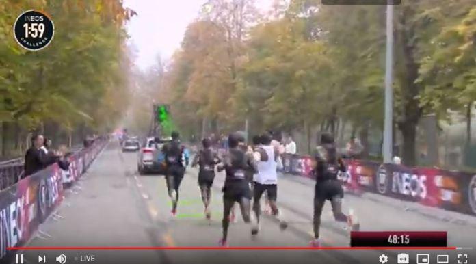 Watch Live ELIUD KIPCHOGE do 1:59 Challenge, Livestreaming from Austria