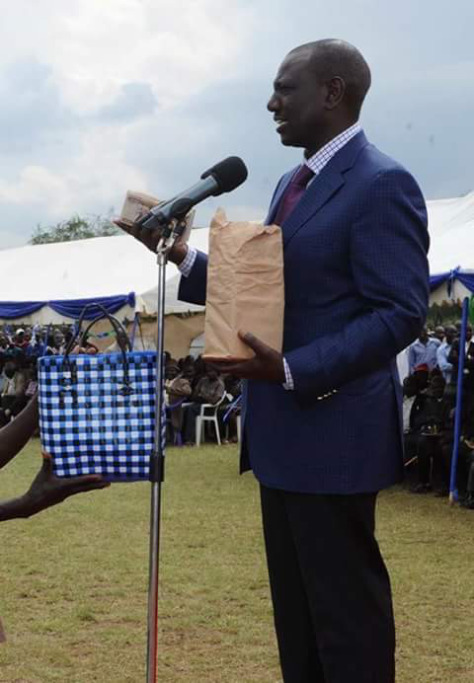 Exposed: Why DP Ruto can't donate money in cheque , corrupt!