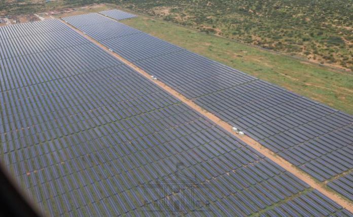 The 50MW GarissaSolar Power plant in Mbalambala, Garissa County which was inaugurated by President Uhuru Kenyatta on Friday, December 13, 2019