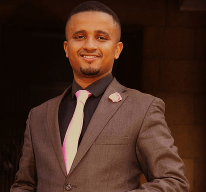Former K24 TV News Anchor Ahmed Bhalo who exited the station in October 2019.