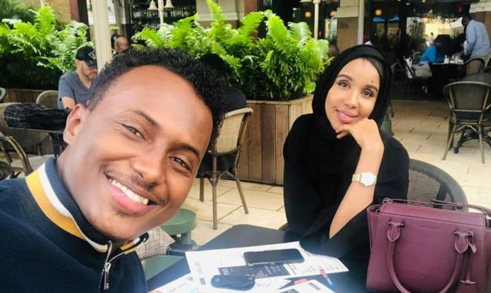 Hudheifa Aden and Faiza Sharafsan got married on Saturday, December 7.