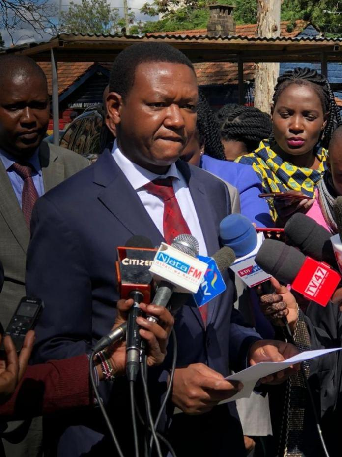 Machakos Governor Alfred Mutua on December 16, 2019, reported to the DCI that DP William Ruto had made threats to his life.