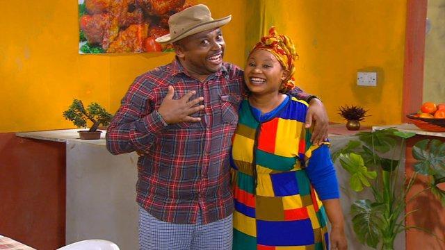 KBC's Vitimbi former actors Francis Njenga and Eunice Wambui.