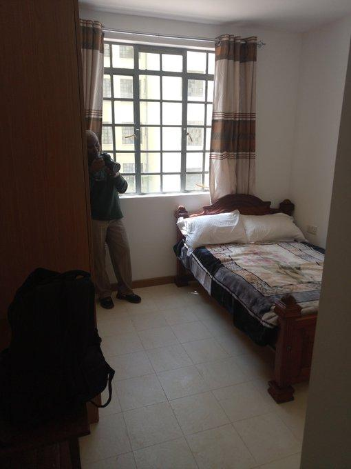 Inside a bedroom at the Park Road Ngara affordable housing project