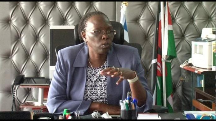Trade CS Betty Maina. Her ministry in partnership with Treasury ministry is set to launch a loan project for the youth