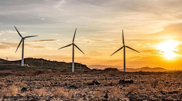 A photo of the Lake Turkana Wind Project