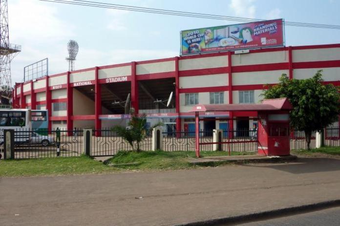 The Nyayo National Stadium.