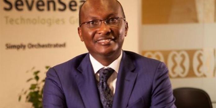 SevenSeas Technologies manager Michael Macharia.