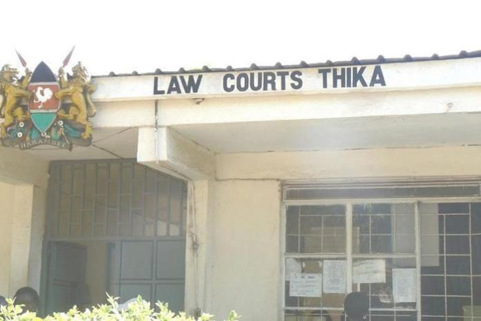 File image of Thika Law Courts