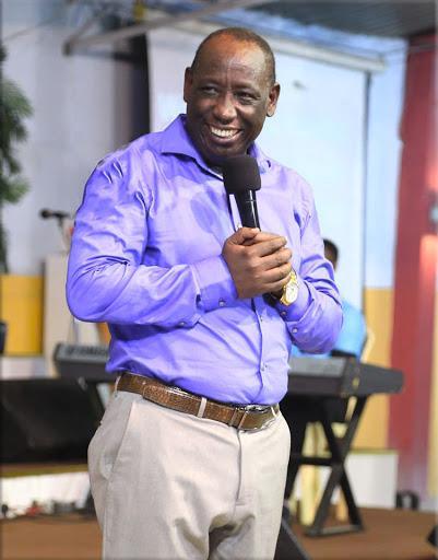 Pastor Lai preaches in his JCC church.