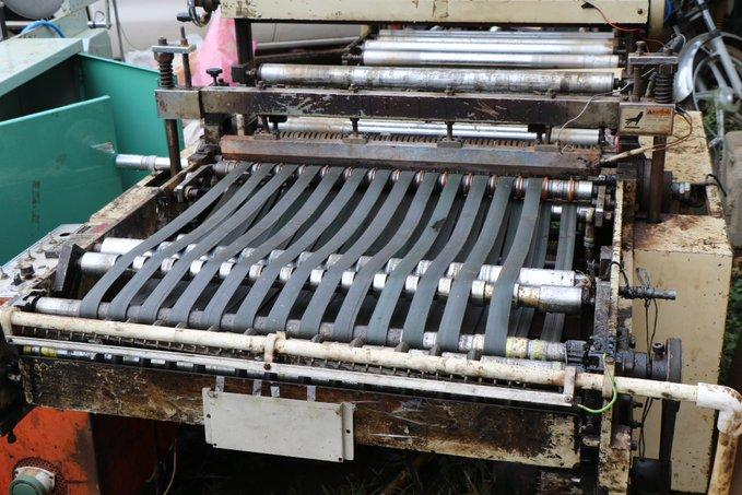 A photo of plastic manufacturing machine found in Juja, Kiambu on Thursday, March 3, 2020.