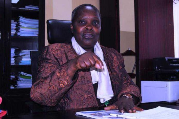 Maasai Mara University VC Mary Walingo who is set to resume duties on Sunday, March 9.