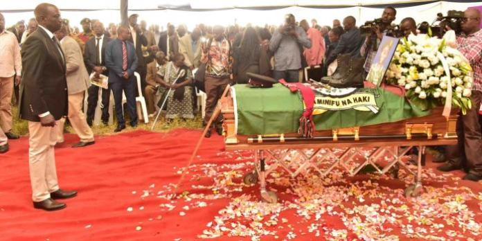 Tears and Anger Mark Kenei's Burial [VIDEOS]