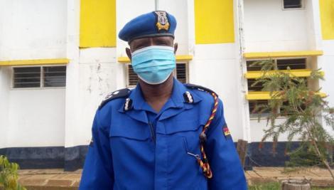 Siaya County Police Commander Francis Kooli