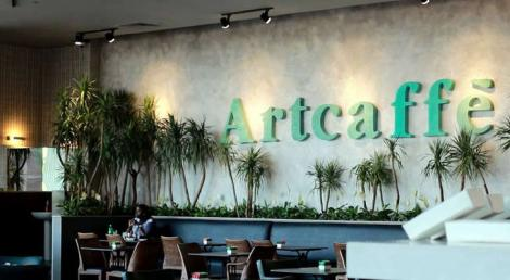 The Artcaffe logo displayed as one of its locations