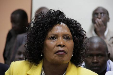 Former Othaya MP Mary Wambui