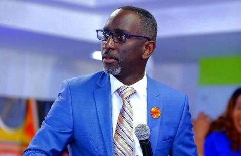 Pastor Robert Burale.