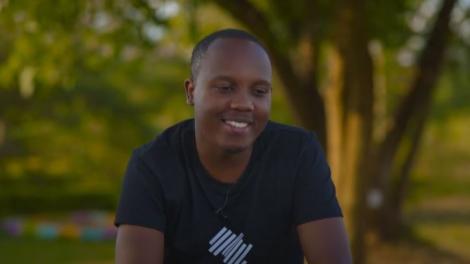 Kenyan Actor Abel Mutua.