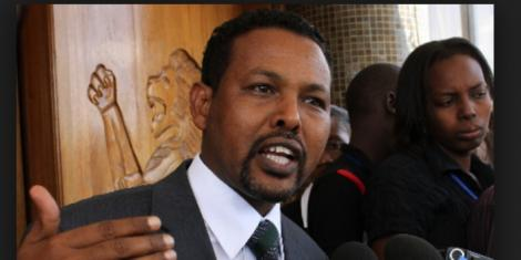 Former Chairman of Parliament's Constitutional Implementation Oversight Committee Abdikadir Mohammed