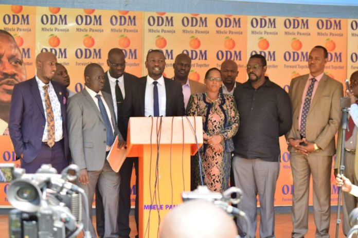 ODM conducts a reshuffle of its leadership at the Nairobi County Assembly following deal with Jubilee