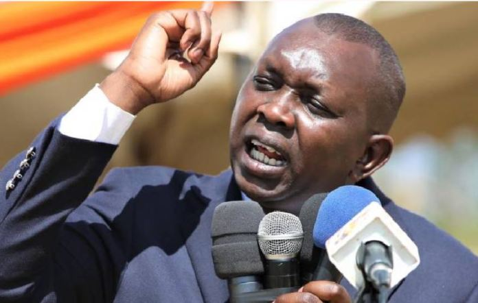 If the SYSTEM decides to endorse Gideon Moi or Matiangi then DP Ruto will step down for me- Hon Sudi